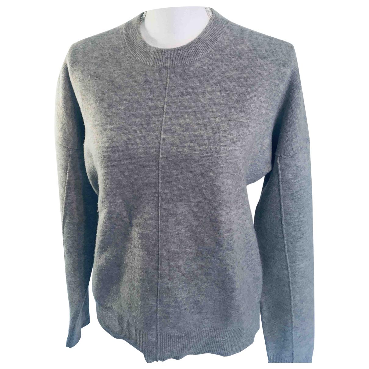 Joseph - Pull   pour femme en laine - gris