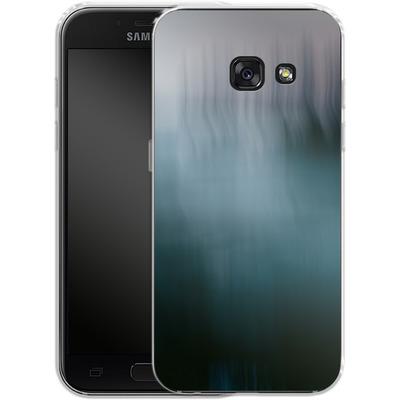 Samsung Galaxy A3 (2017) Silikon Handyhuelle - Twilight Sea Abstract von Joy StClaire