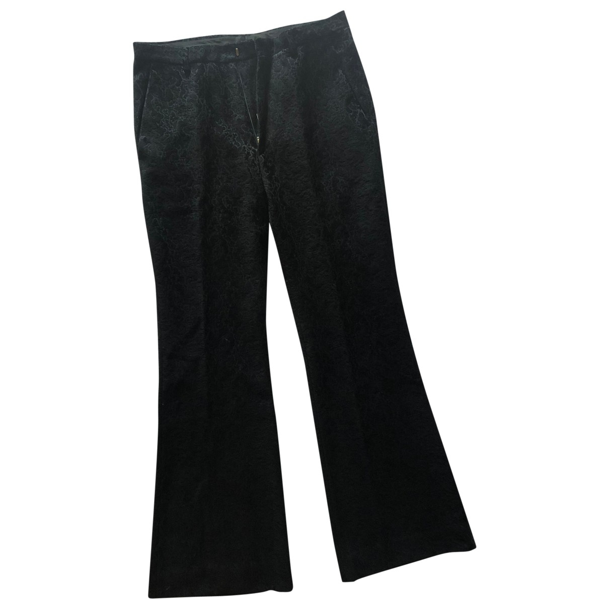 Gucci \N Black Cotton Trousers for Men 48 IT