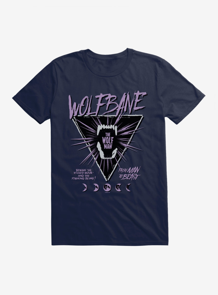 Universal Monsters The Wolf Man Wolfbane T-Shirt