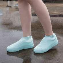 1pair Silicone Random Rain Boots Cover