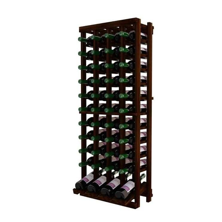 Winemaker Series Individual Bottle Kit - 4 Column Top Stack with Display Row (Brown)