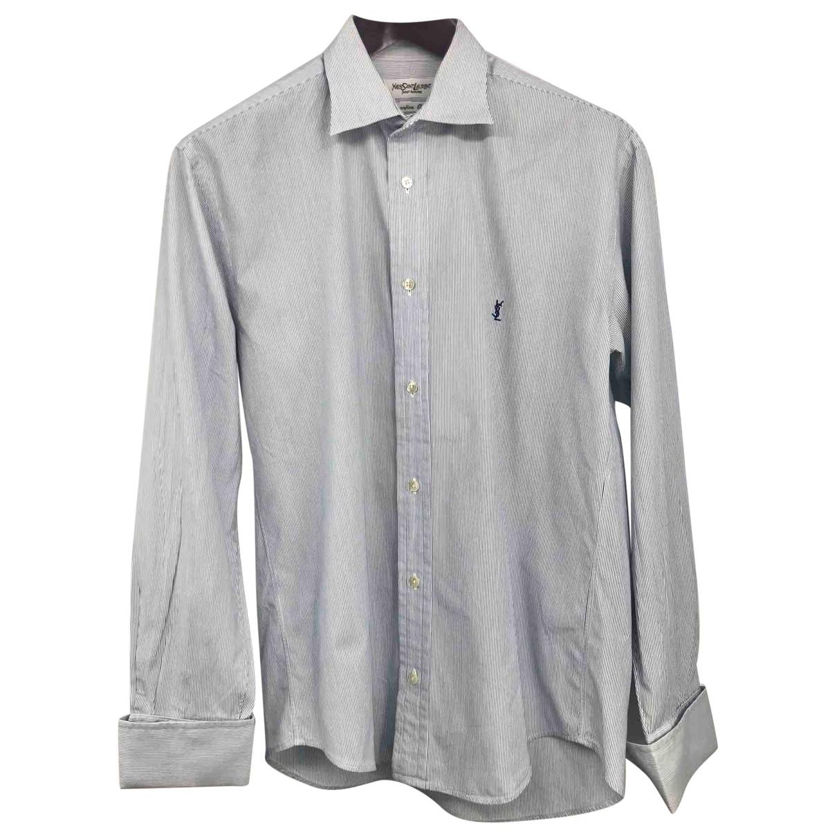 Yves Saint Laurent - Chemises   pour homme en coton - multicolore