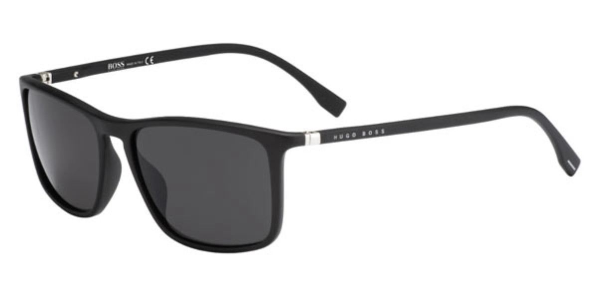 Boss by Hugo Boss Boss 0665/N/S 09Q/IR Men's Sunglasses Black Size 57