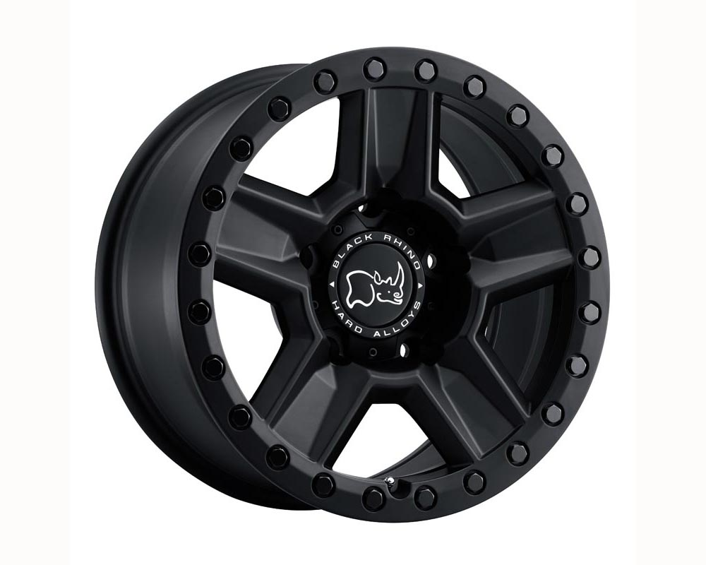 Black Rhino Ravine Wheel 18x9 6x139.70 -18 Matte Black
