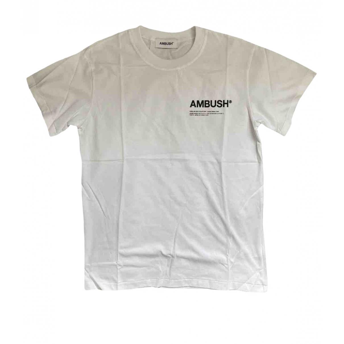 Ambush - Top   pour femme en coton - blanc