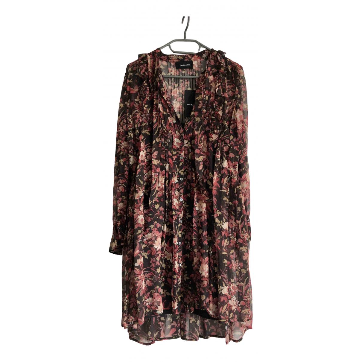 Mini vestido de Seda The Kooples