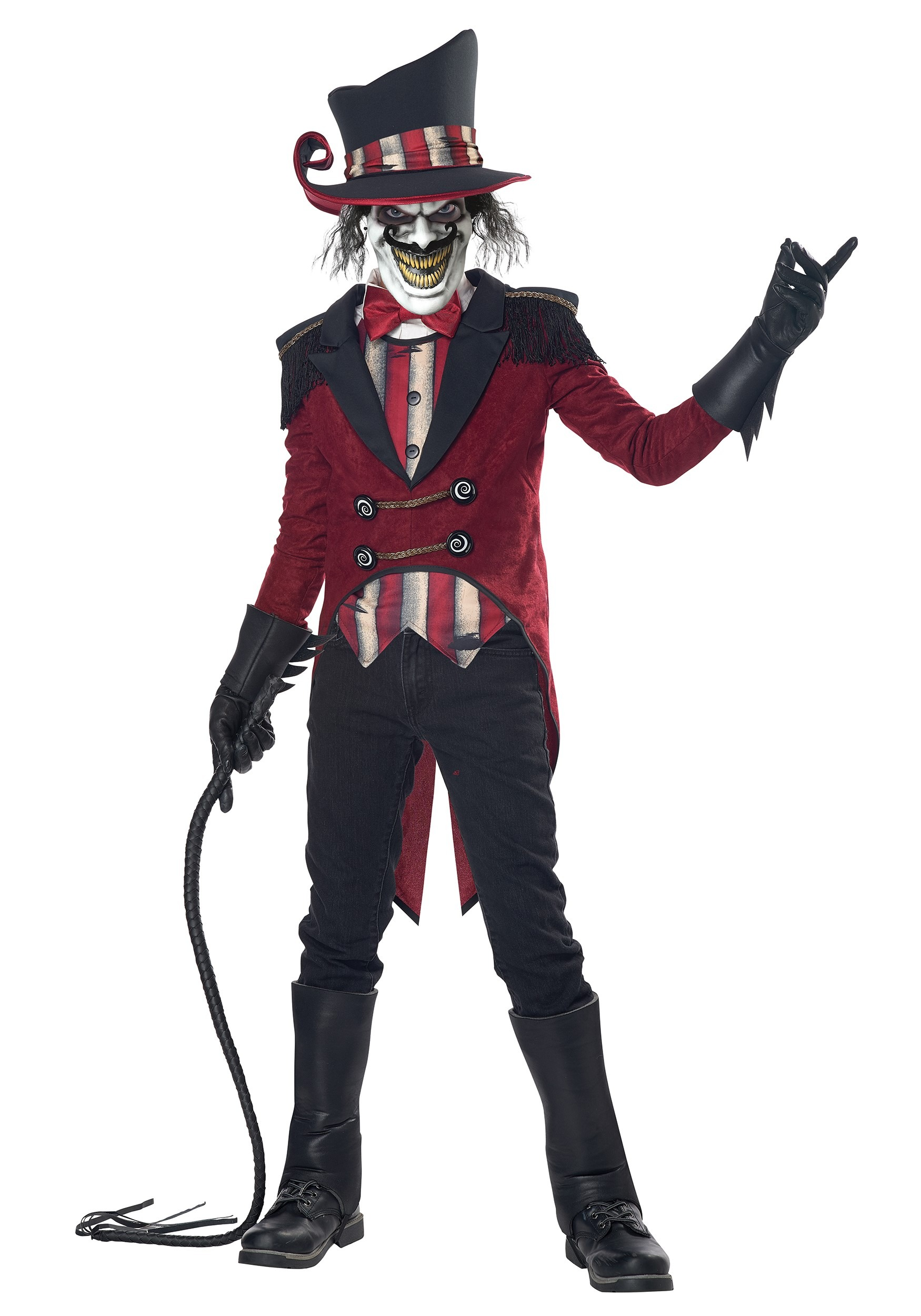 Wicked Ringmaster Boy's Costume