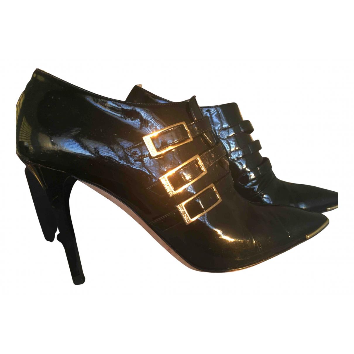 Jimmy Choo N Black Patent leather Heels for Women 40 EU