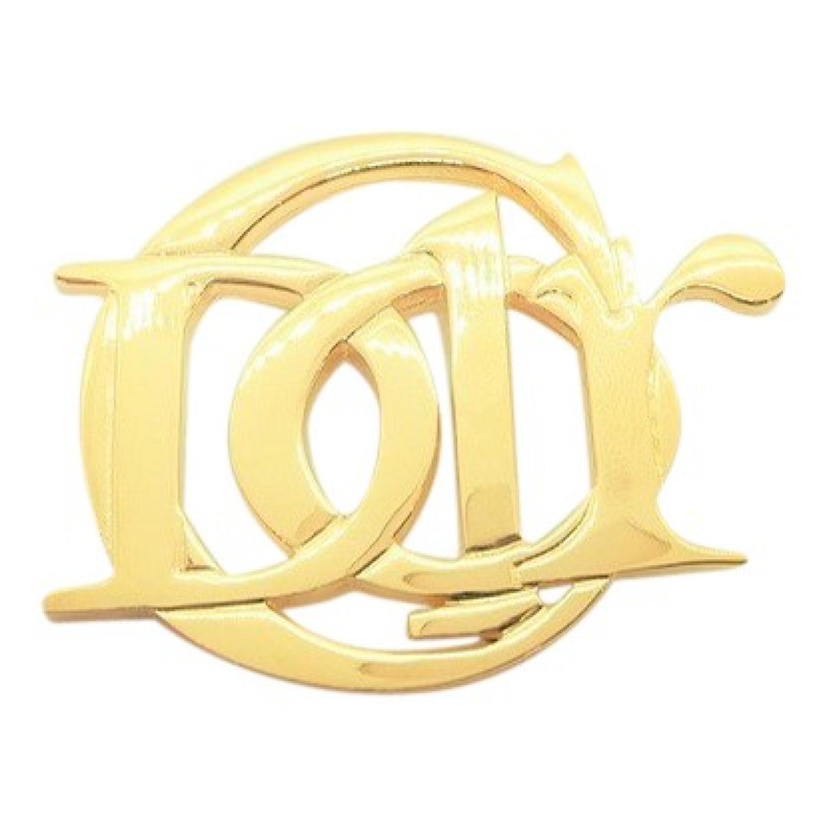 Dior \N Brosche in  Gold Vergoldet