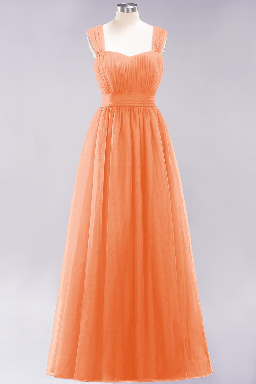 BMbridal Gorgeous Sweetheart Straps Ruffle Burgundy Bridesmaid Dresses Online