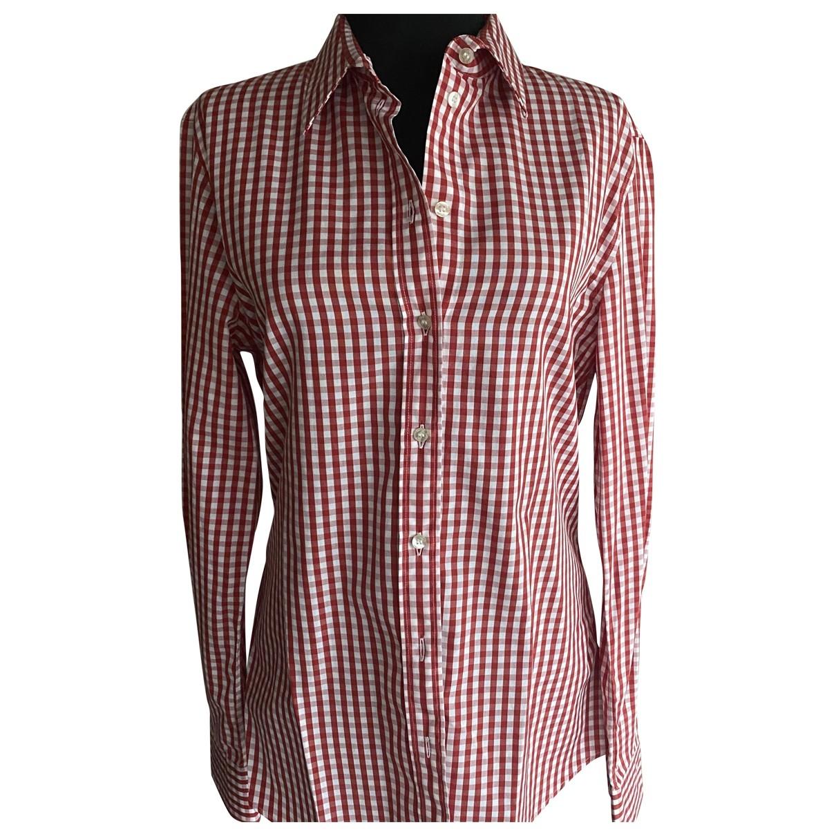 D&g - Top   pour femme en coton - rouge