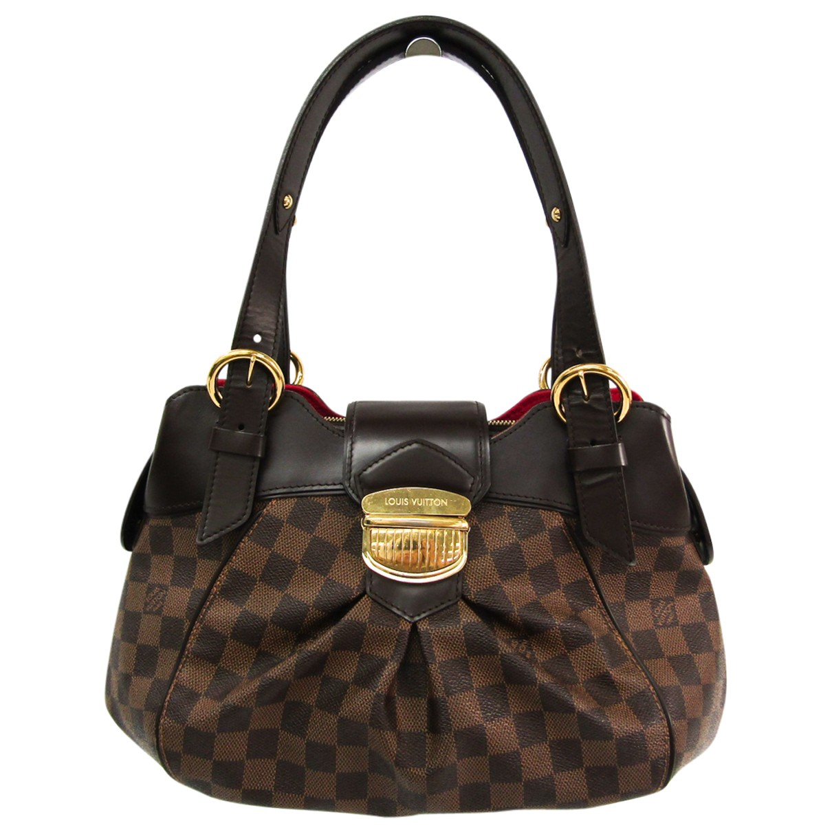 Louis Vuitton Sistina Brown Cloth handbag for Women \N
