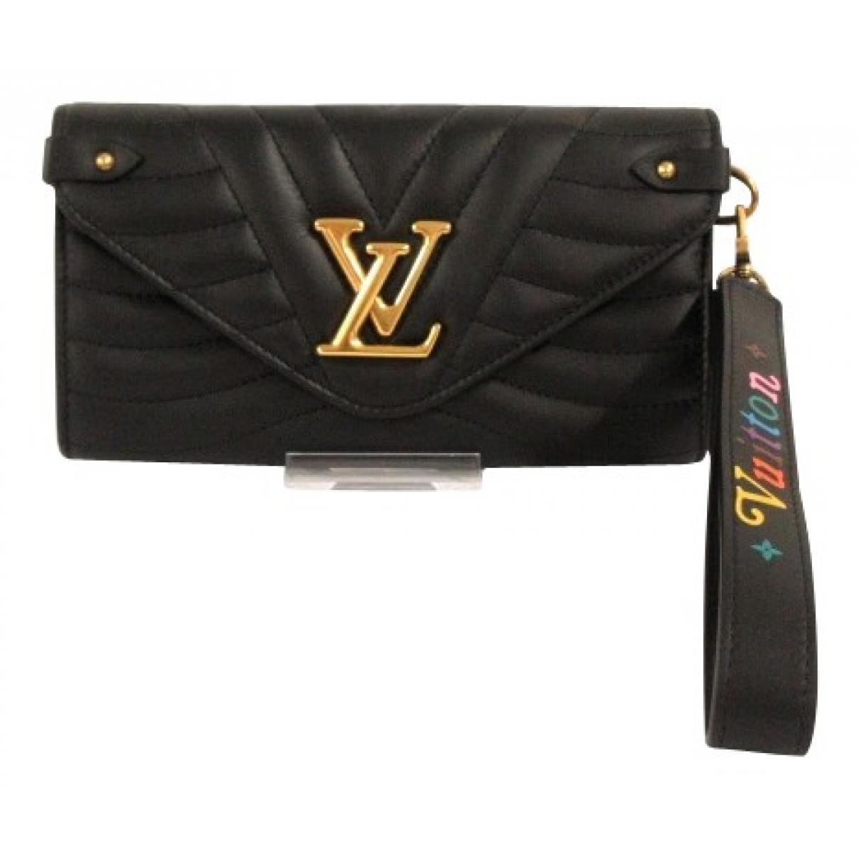 Billetero New Wave de Cuero Louis Vuitton