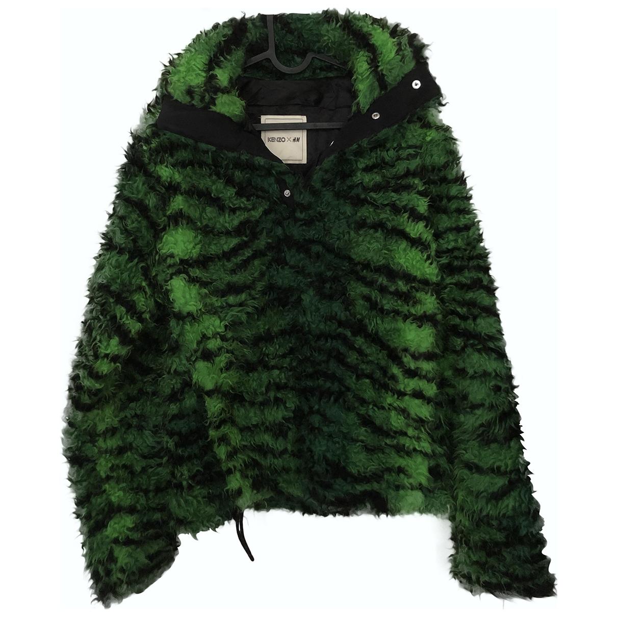 Kenzo X H&m \N Green Knitwear & Sweatshirts for Men S International