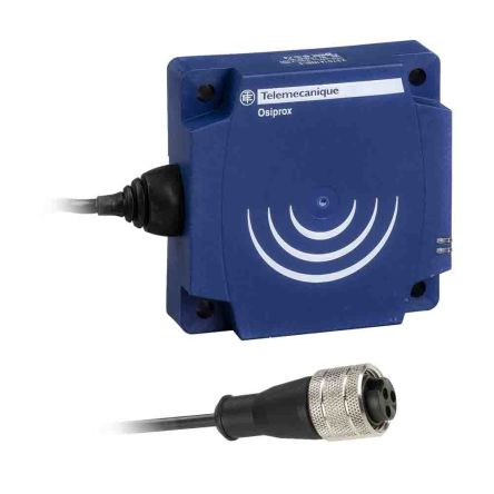 Telemecanique Sensors Inductive Sensor - Flat Form, NO Output, 60 mm Detection, IP67, 1/2