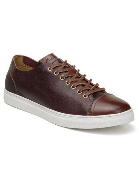 Mens Burg ~ Cognac Lace Up Shoe