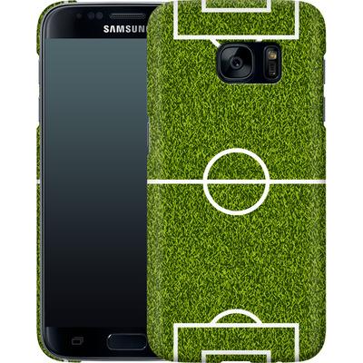 Samsung Galaxy S7 Smartphone Huelle - Soccer Field von caseable Designs