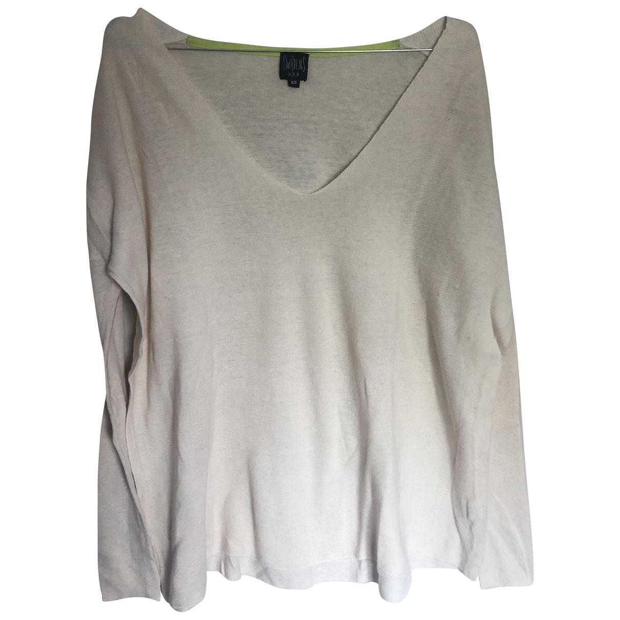 Swildens \N Ecru Linen Knitwear for Women XS International