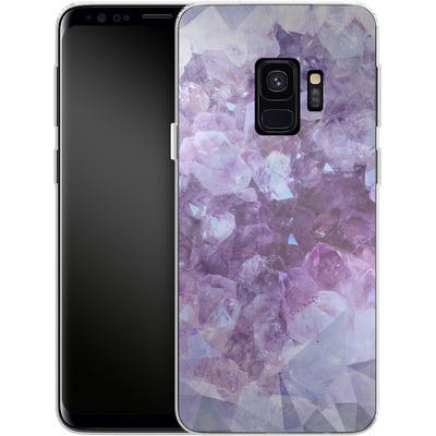 Samsung Galaxy S9 Silikon Handyhuelle - Light Crystals von Emanuela Carratoni