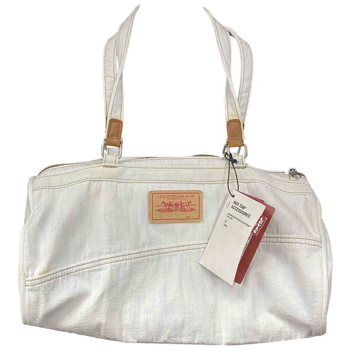 Levi's Vintage Clothing \N White Denim - Jeans handbag for Women \N