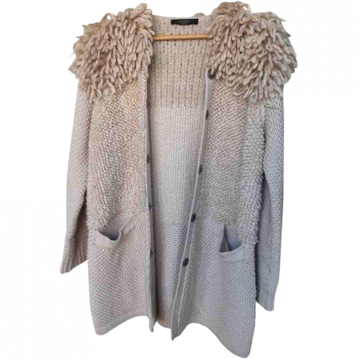 Max Mara \N Pullover in  Ecru Wolle