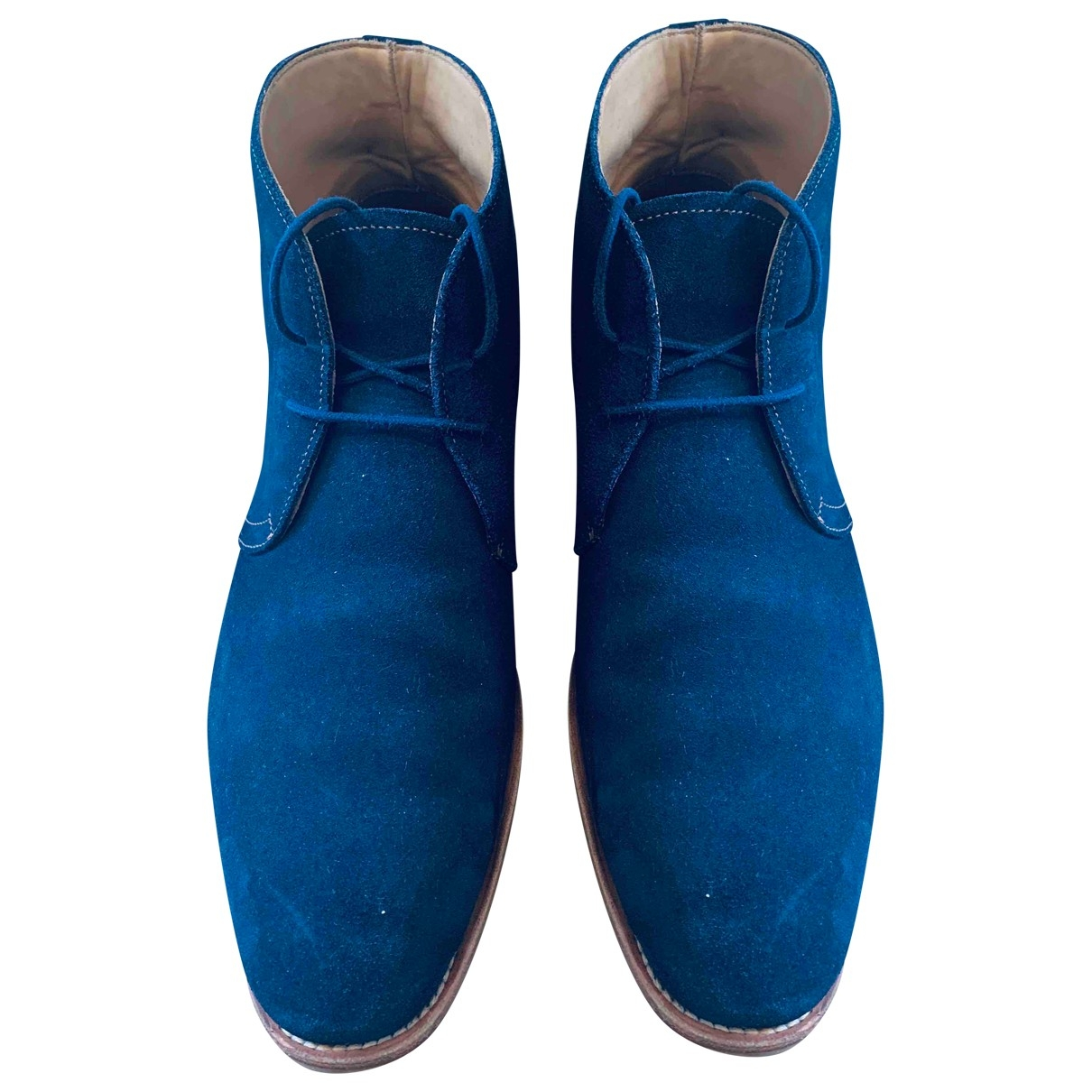 Russell & Bromley \N Blue Suede Boots for Men 43 EU