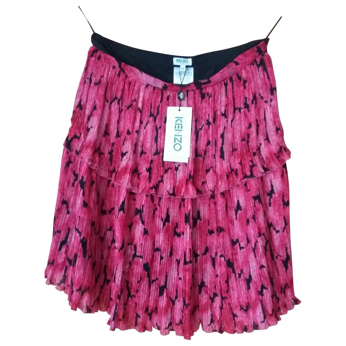 Kenzo \N Rocke in  Rosa Polyester