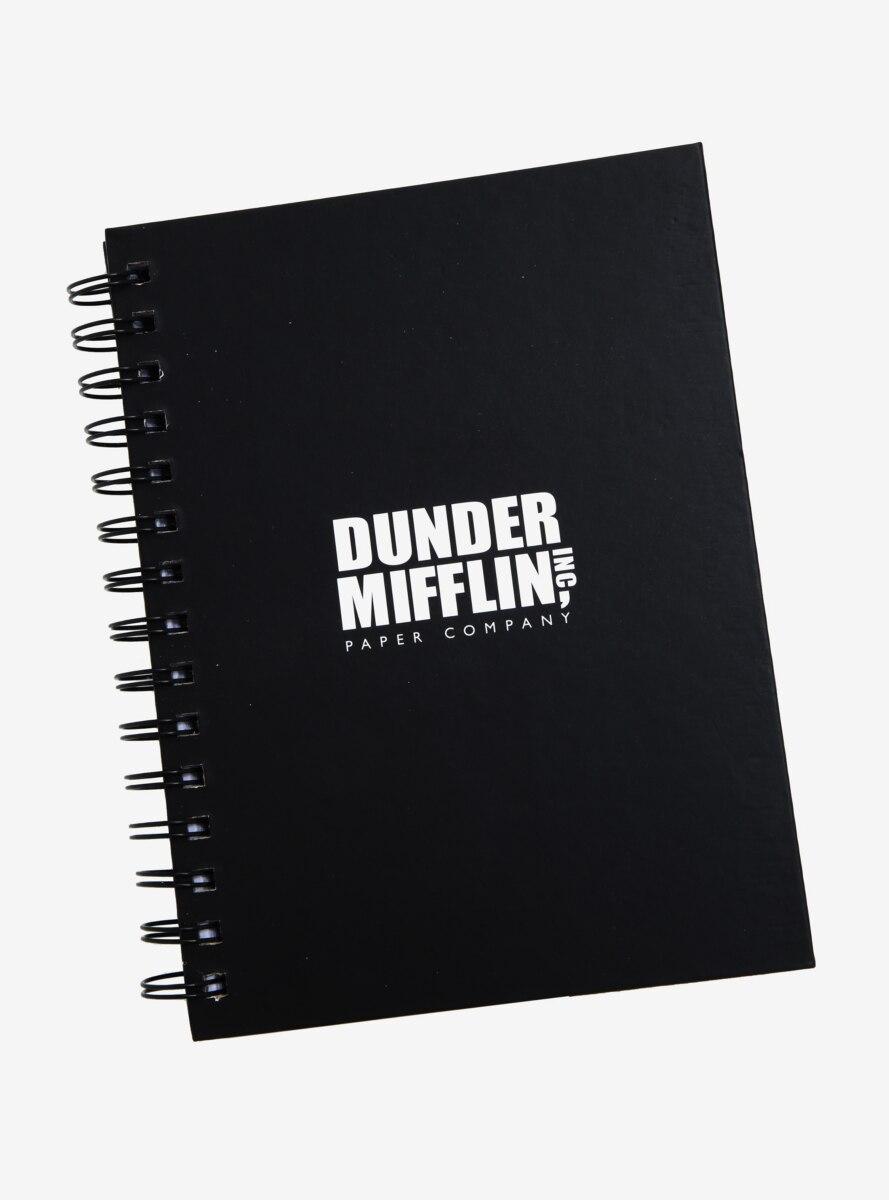 The Office Dunder Mifflin Logo Spiral Notebook - BoxLunch Exclusive