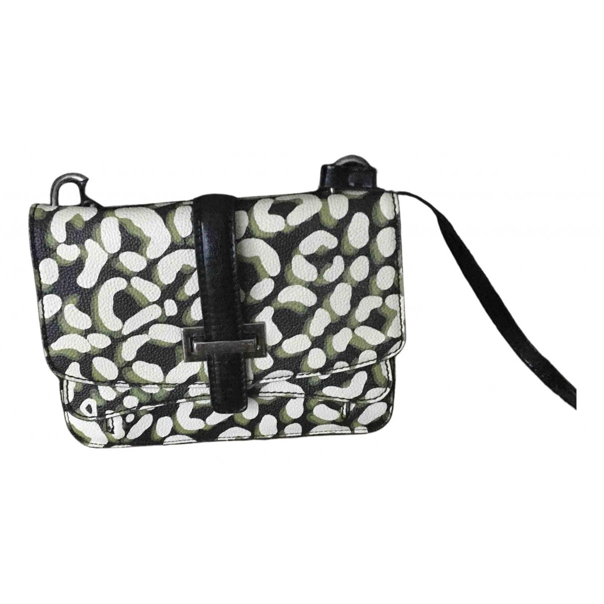 Essentiel Antwerp \N Khaki Leather handbag for Women \N