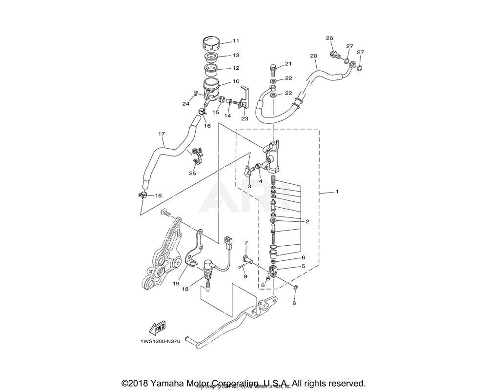 Yamaha OEM 2D1-2582A-00-00 JOINT