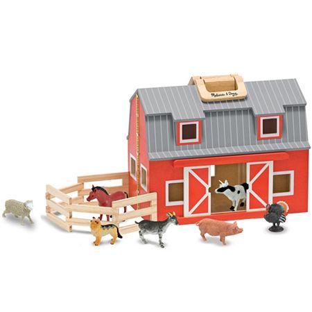 Melissa & Doug Fold & Go Barn, One Size , Multiple Colors