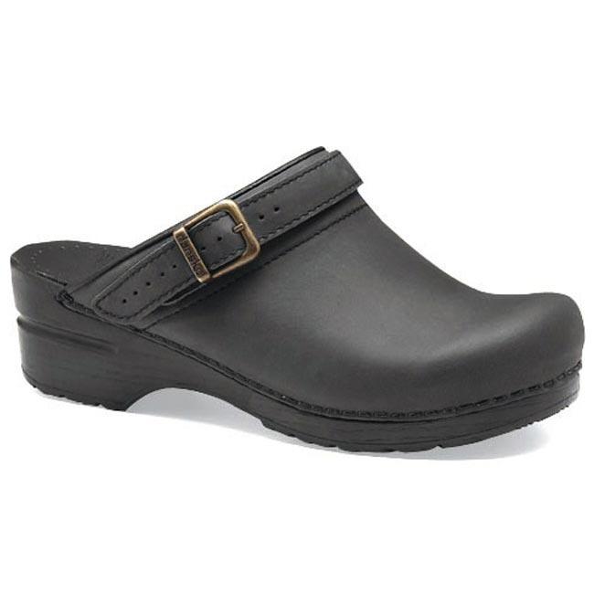 Dansko Ingrid Black Oiled Leather 42