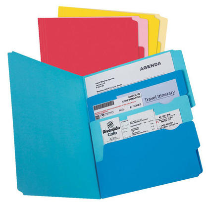 Oxford® Divide-It-Up Report Cover, Letter-size - 24/Pack, Assorted