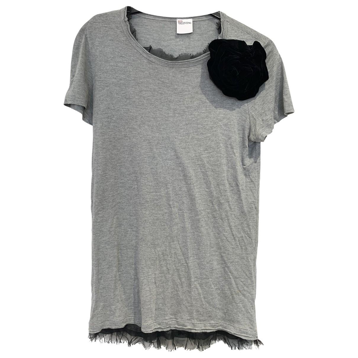 Red Valentino Garavani \N Grey Cotton  top for Women L International
