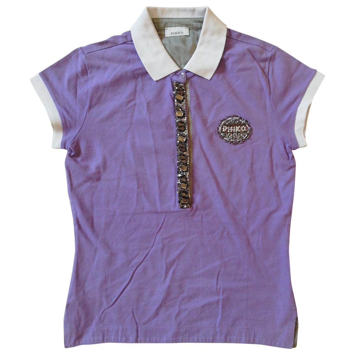 Pinko \N Purple Cotton  top for Women S International