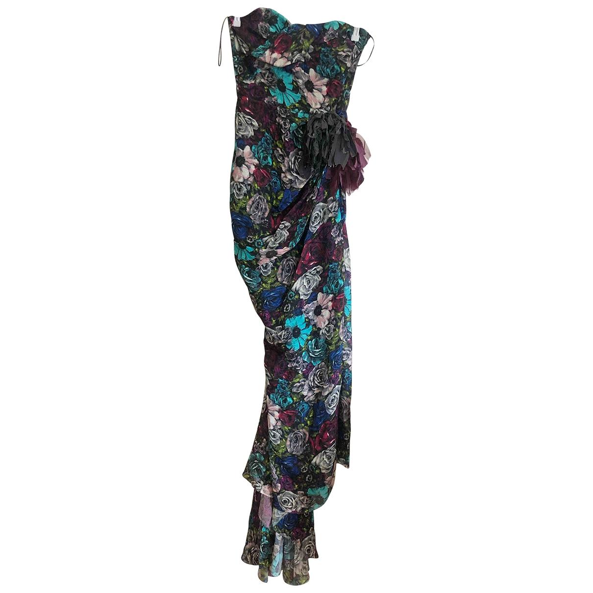 Maxi vestido de Seda Lanvin