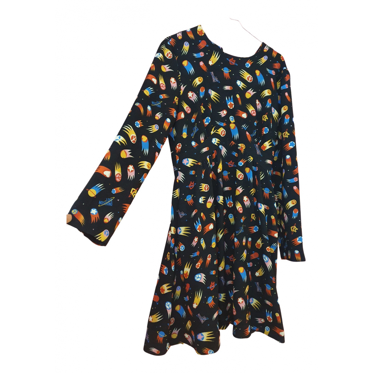Moschino Love N Multicolour Cotton - elasthane dress for Women 12 UK