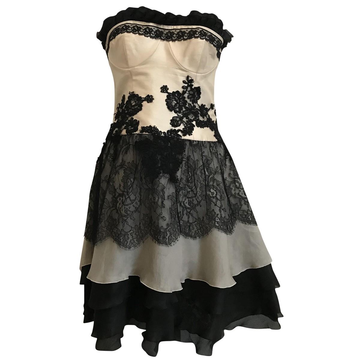 Christian Lacroix \N Black Silk dress for Women 38 FR