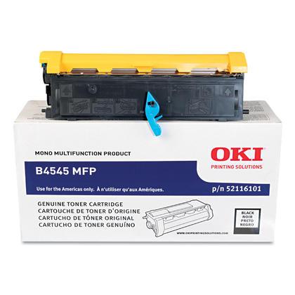 Okidata 52116101 Original Black Toner Cartridge
