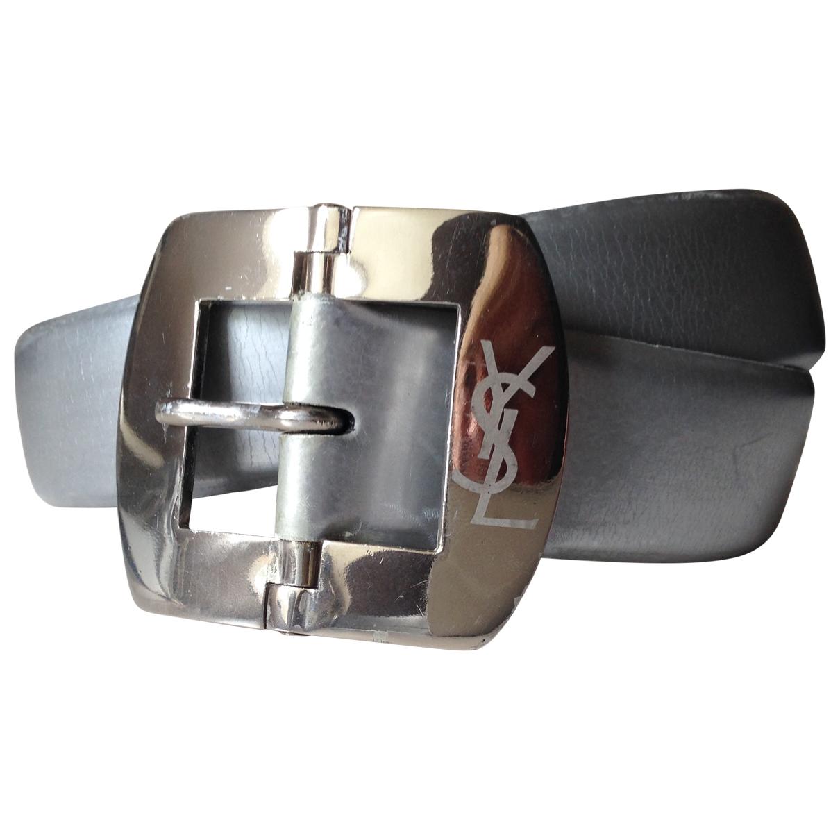 Cinturon de Cuero Yves Saint Laurent
