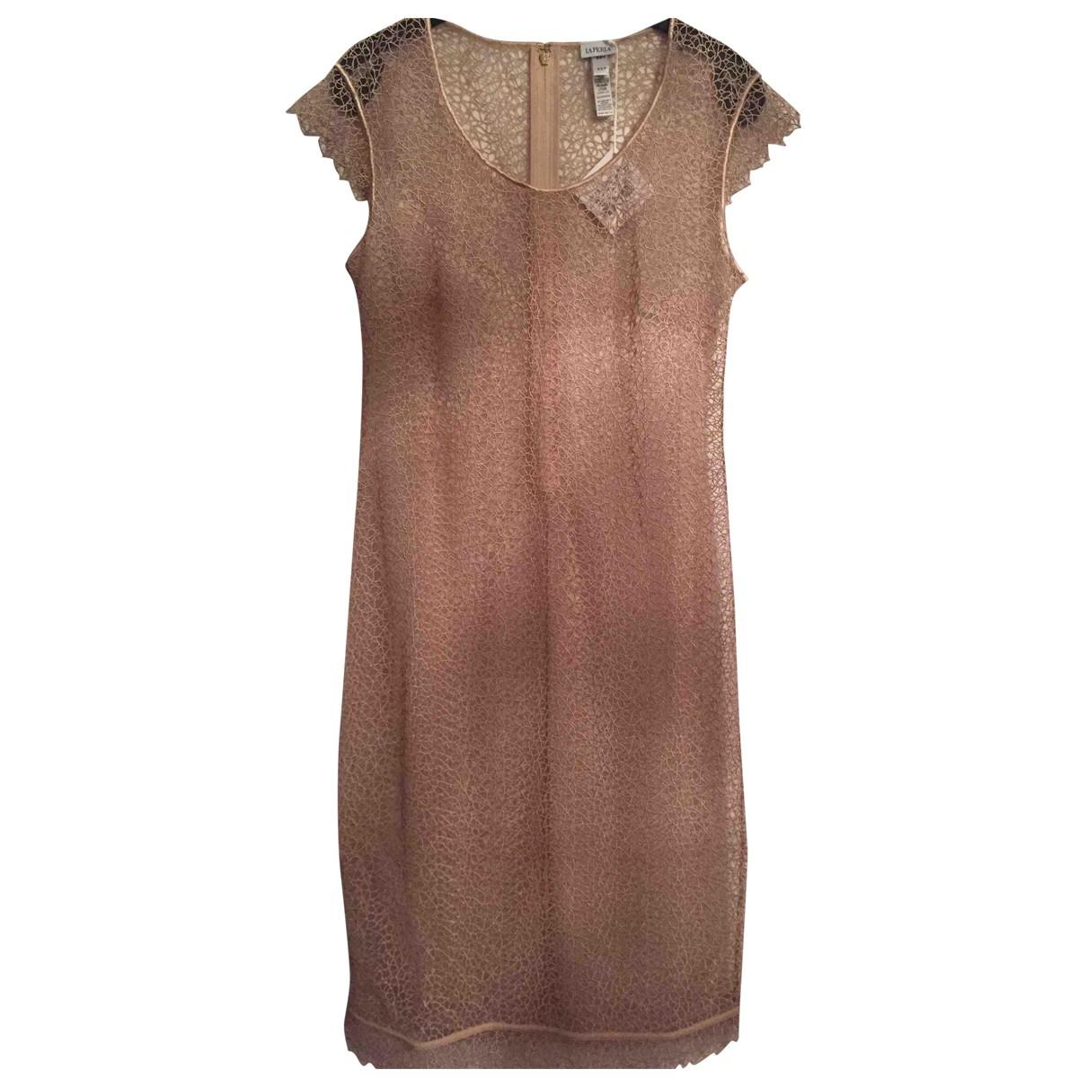La Perla \N Kleid in  Rosa Polyester