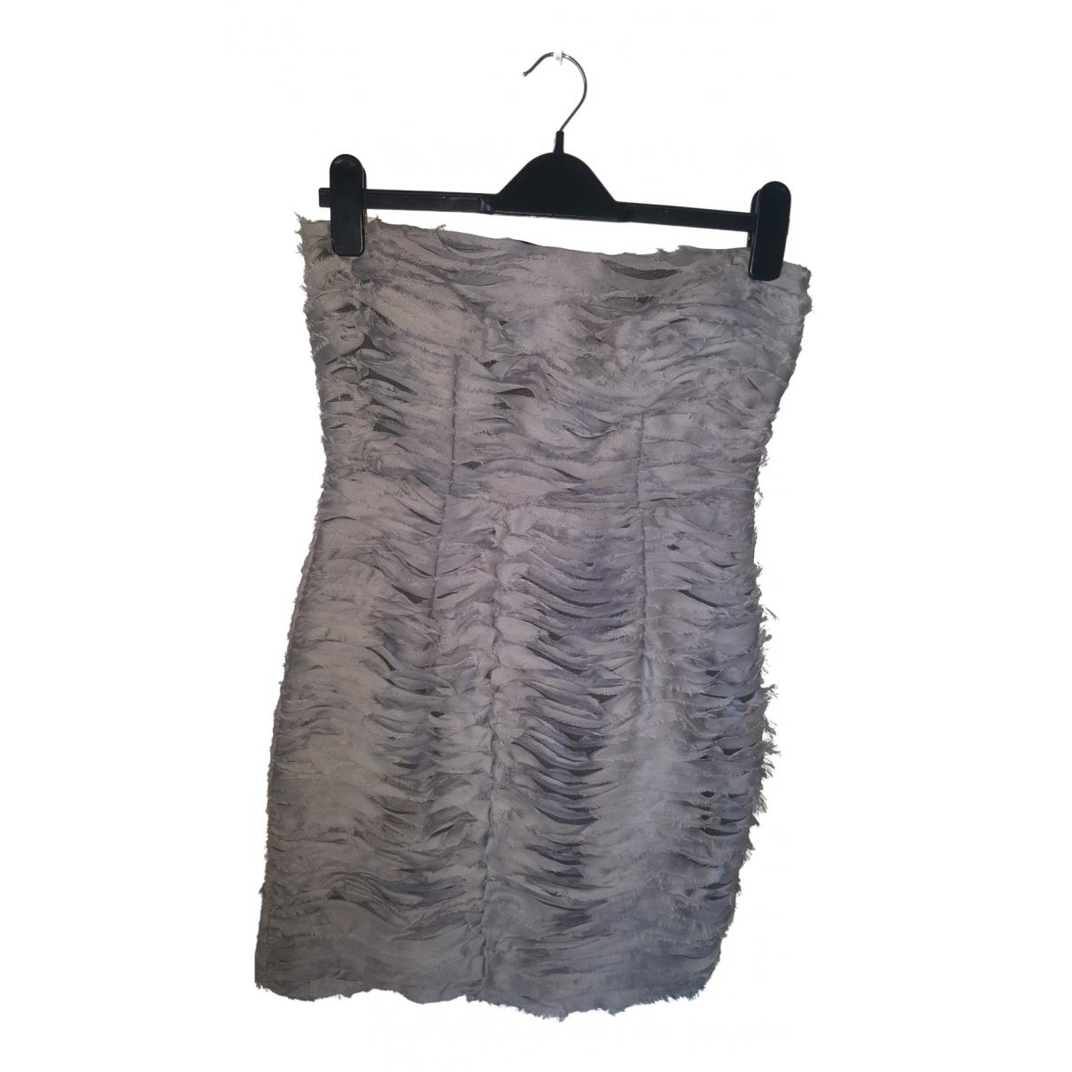 Tophop \N Kleid in  Grau Polyester