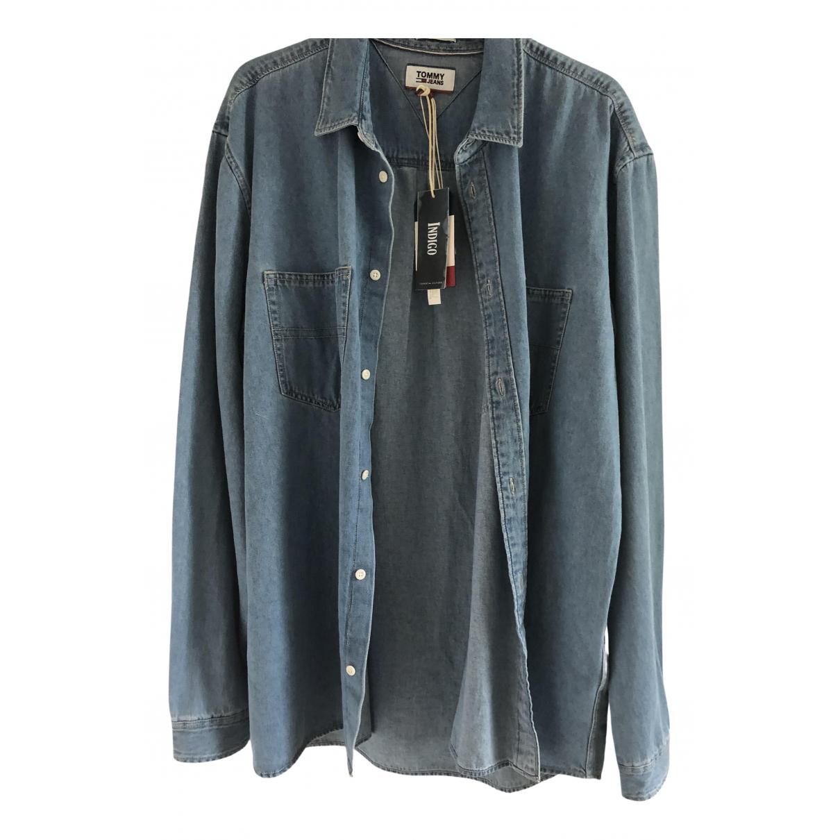 Tommy Hilfiger - Chemises   pour homme en denim - bleu