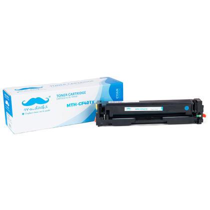 Compatible HP Color LaserJet Pro MFP M277DW Cyan Toner Cartridge High Yield - Moustache