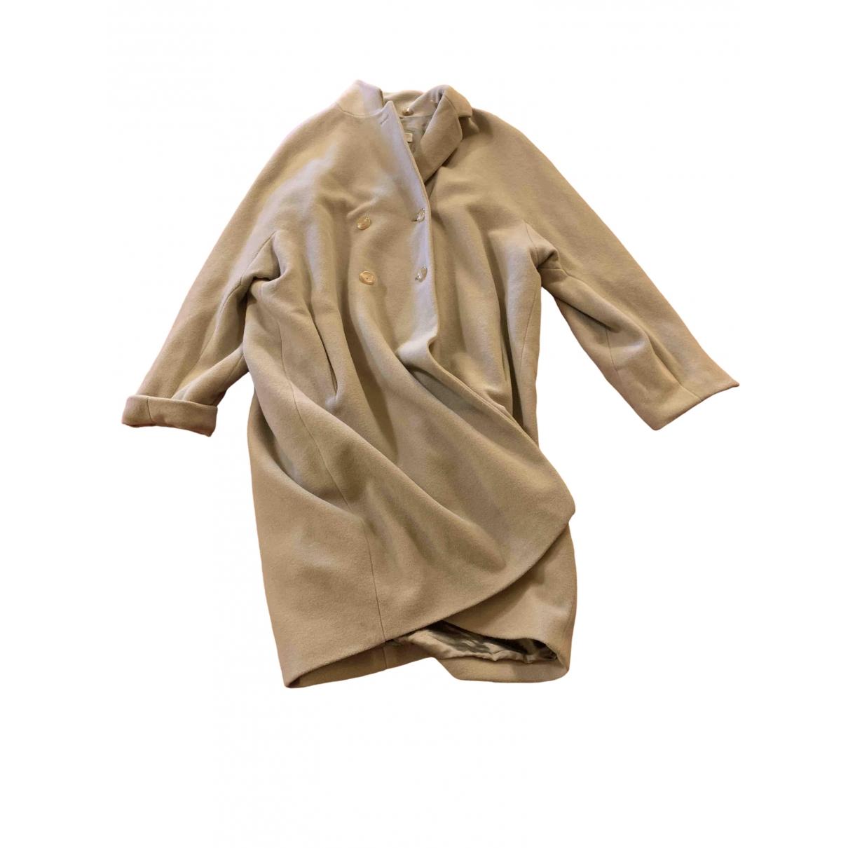 Jil Sander \N Beige Wool coat for Women 38 FR