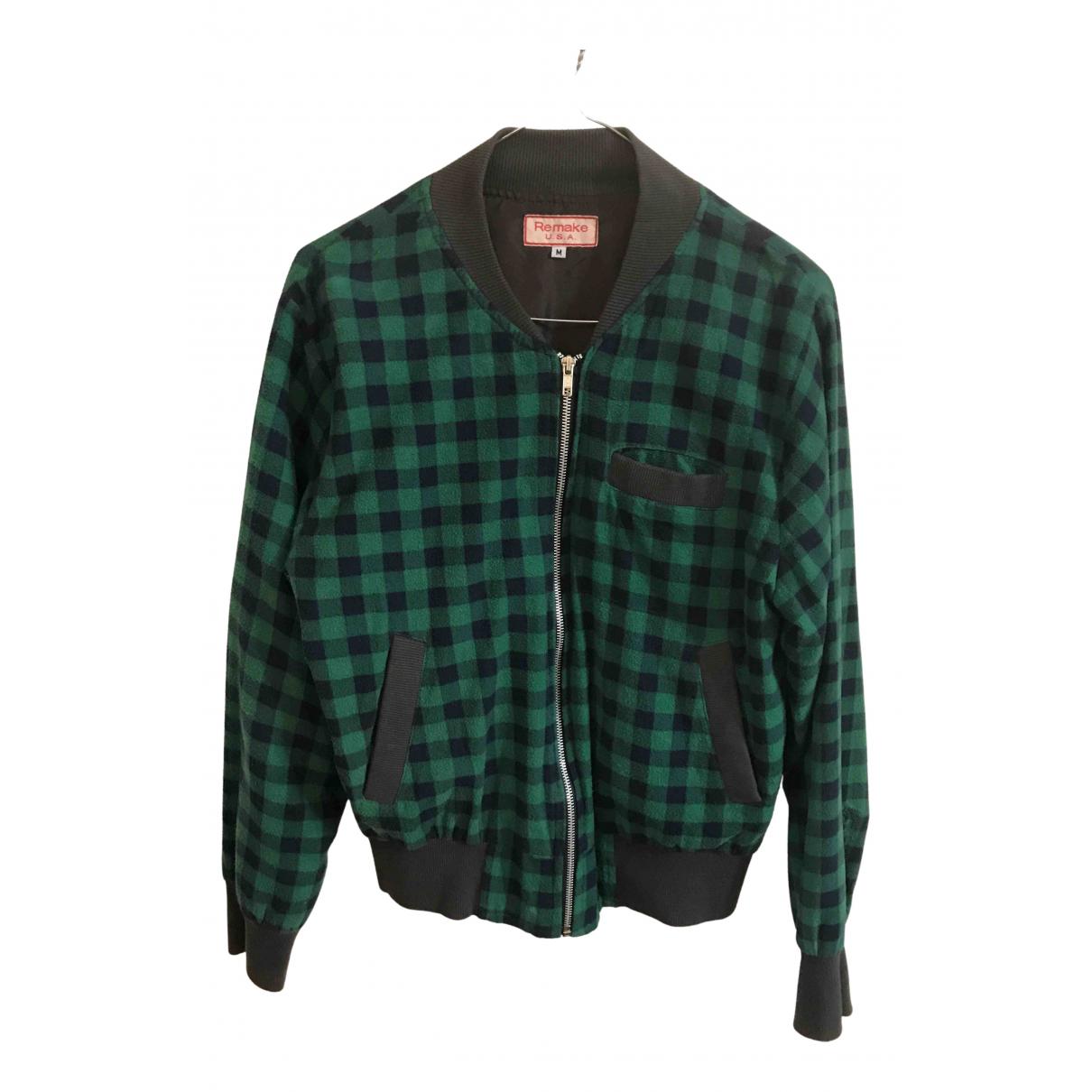 - Veste   pour femme en laine - vert