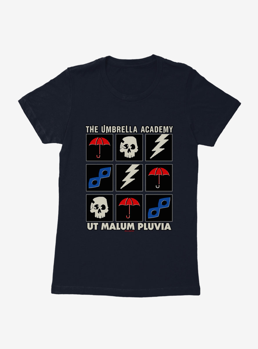 The Umbrella Academy Icons Womens T-Shirt