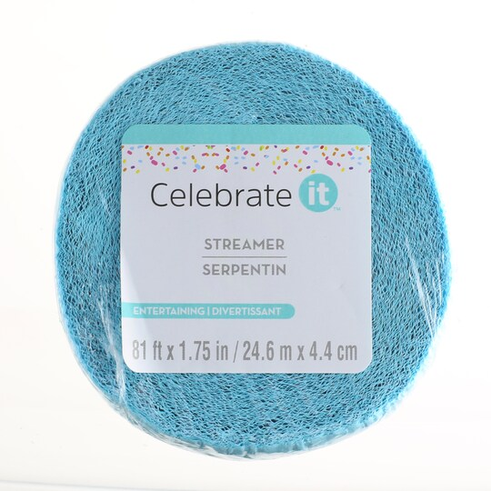 12 Pack: Teal Crepe Streamer By Celebrate It™ | Michaels®