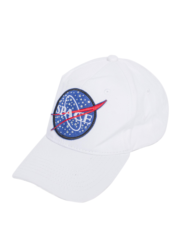 Kostuemzubehor Baseball Cap Space Farbe: weiss